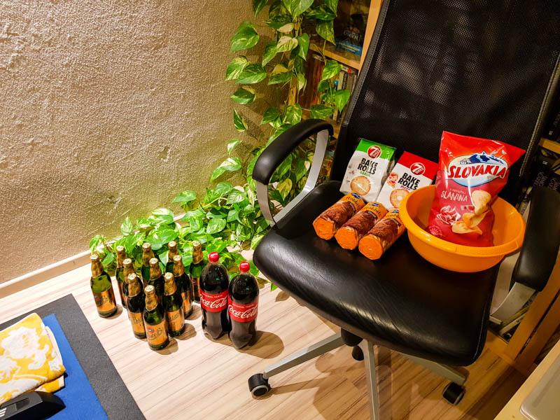 Zasoby jedla pre virtualny everesting
