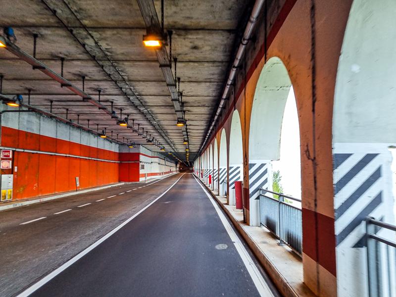 Lago di Garda tunel