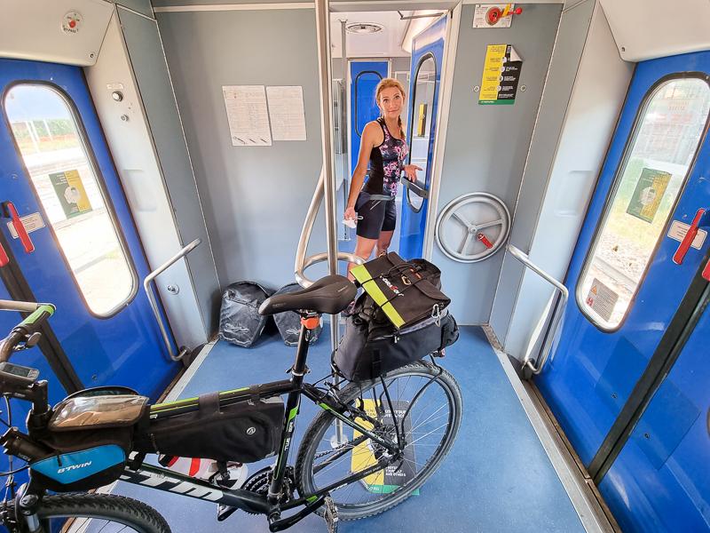 Preprava bicyklov talianskym vlakom