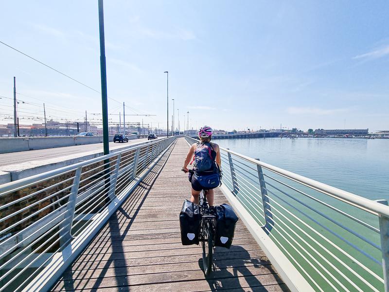 Most do Benatok cyklochodnik