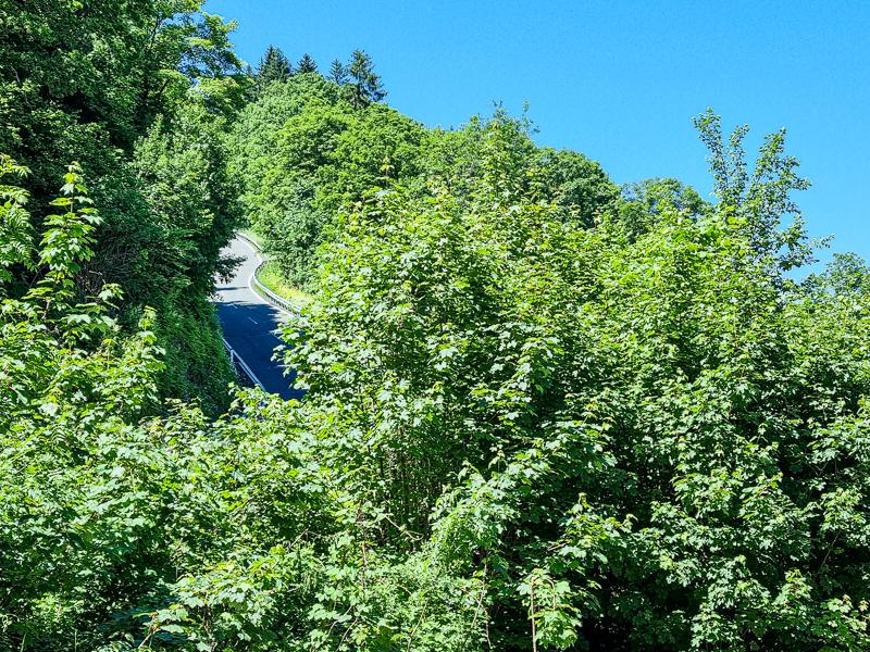 Wurzenpass hranica Slovinska a Rakuska